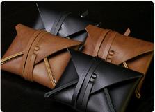 Tanning leather coin purse-1-KAKURA