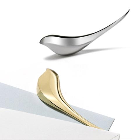 Birdie letter opener brass-+d