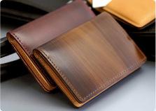 Cordovan business card case-Milagro