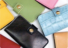 iPhone5 leather smartphone case