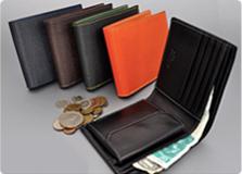 Bolero leather Bi-fold wallet-Milagro